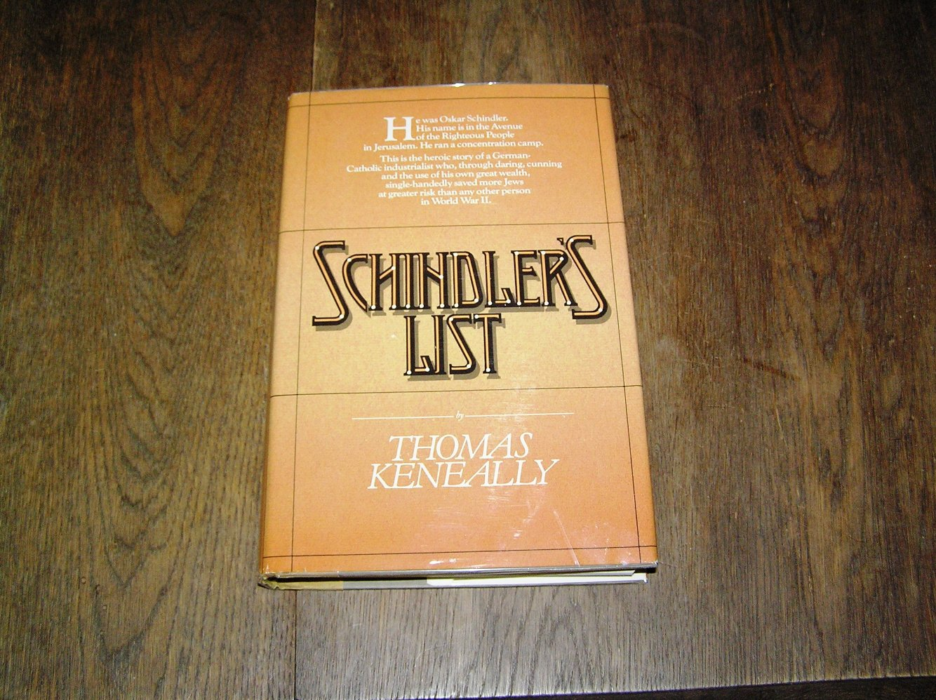 the schindlers list book critique Schindler's list (1993) movies, tv, celebs, and more imdb the other key part is schindler's jewish accountant, played with self-effacing brilliance by ben kingsley audio books.