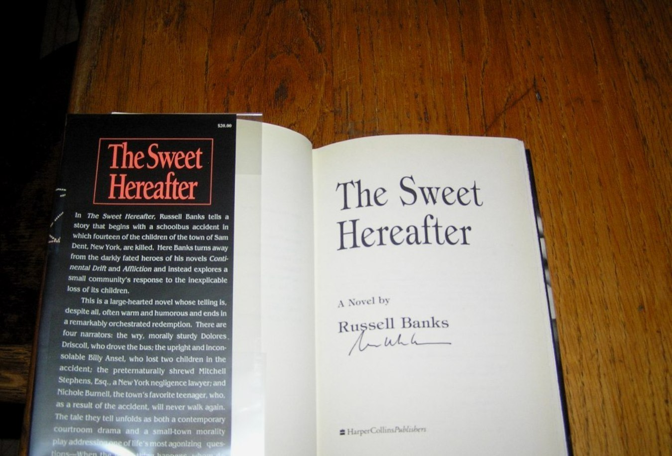 russell banks the sweet hereafter