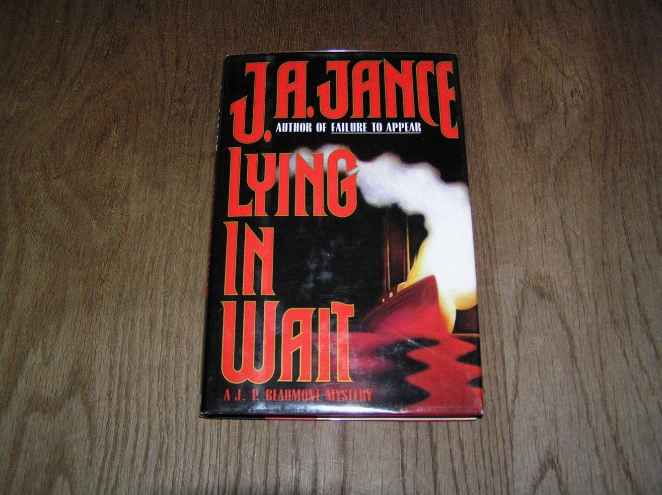 lying in wait jance j a