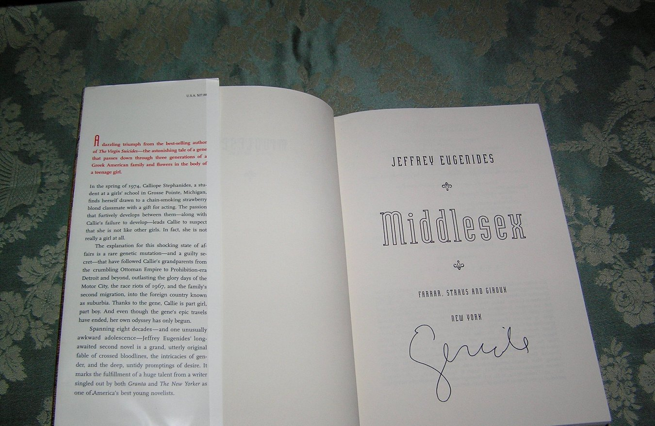 essay on middlesex by jeffrey eugenides Middlesex is a pulitzer prize-winning novel by jeffrey eugenides published in 2002 the book is a bestseller, with more than four million copies sold since its publication.