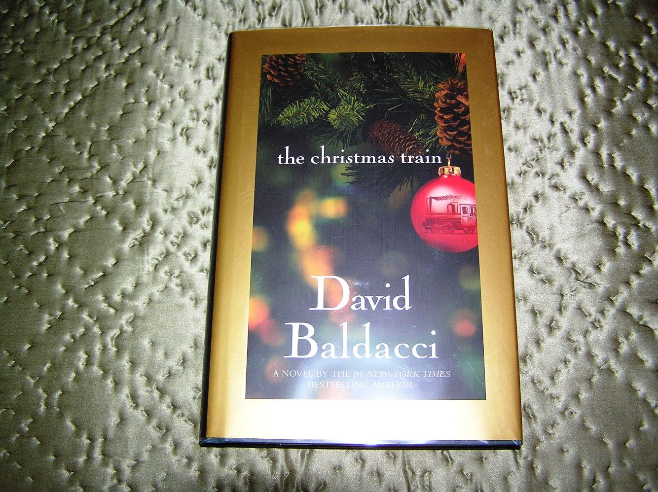 DAVID BALDACCI The Christmas Train 1st