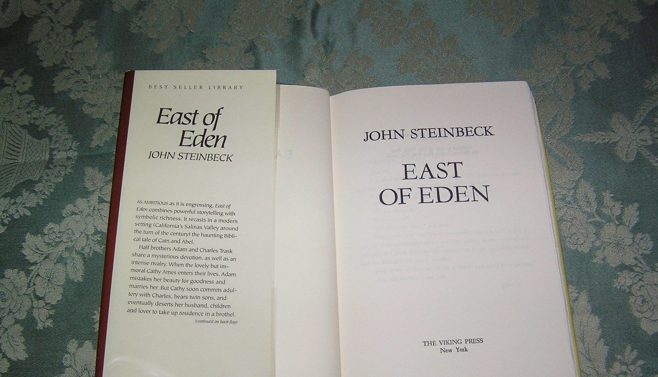 a book analysis of john steinbecks east of eden Click download or read online button to get east of eden book now  nobel prize winner john steinbeck called east of  graphical data analysis with r pdf.
