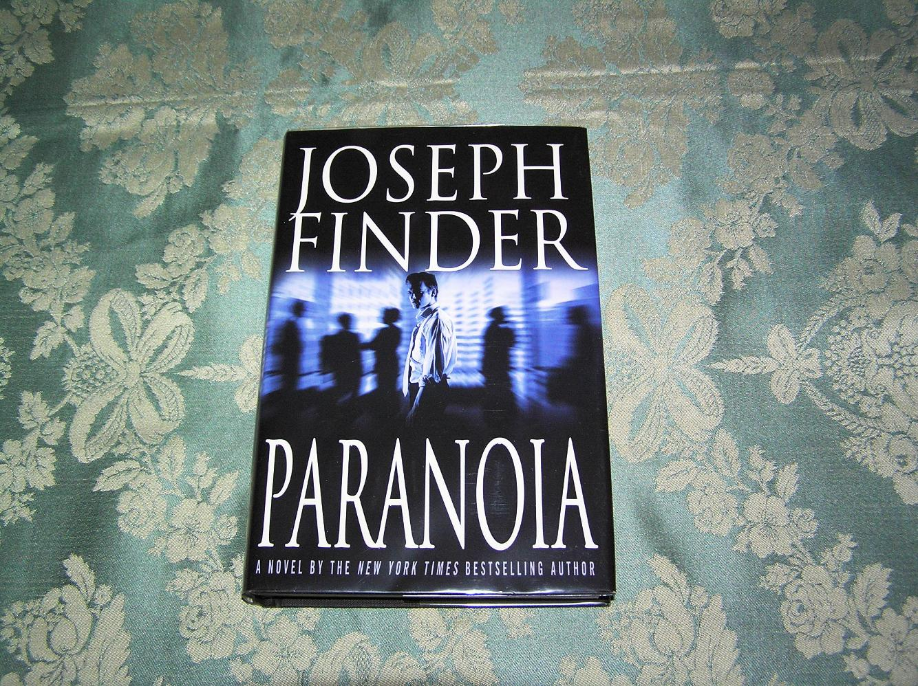 Paranoia by Joseph Finder (2004, Hardcover, Revised)