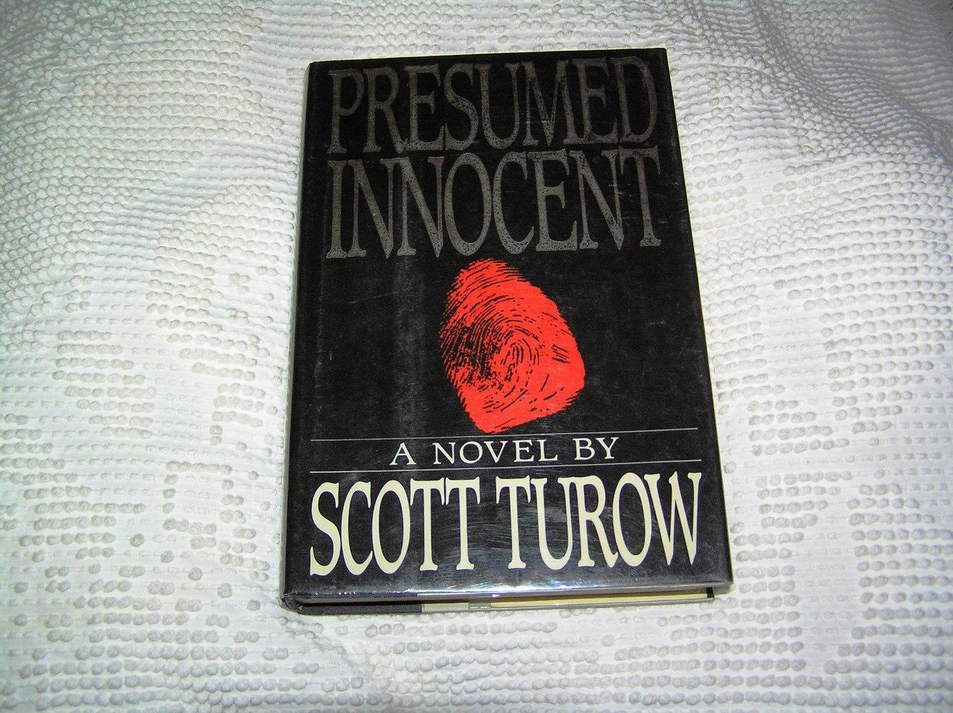 olympus digital camera - Presumed Innocent Book