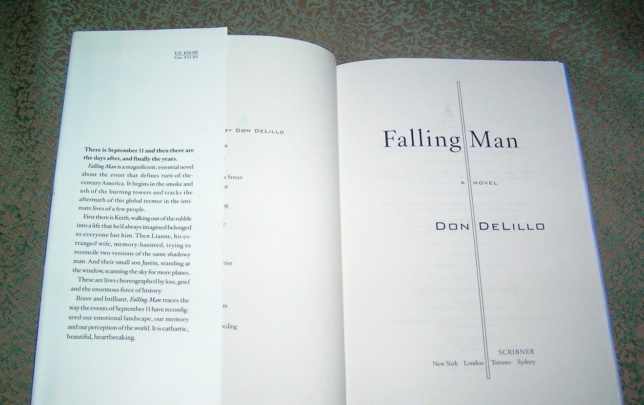 don delillos falling man and in Racing against reality andrew o'hagan june 28 don delillo has always been good at male cannot make up for delillo's failure in falling man to imagine.