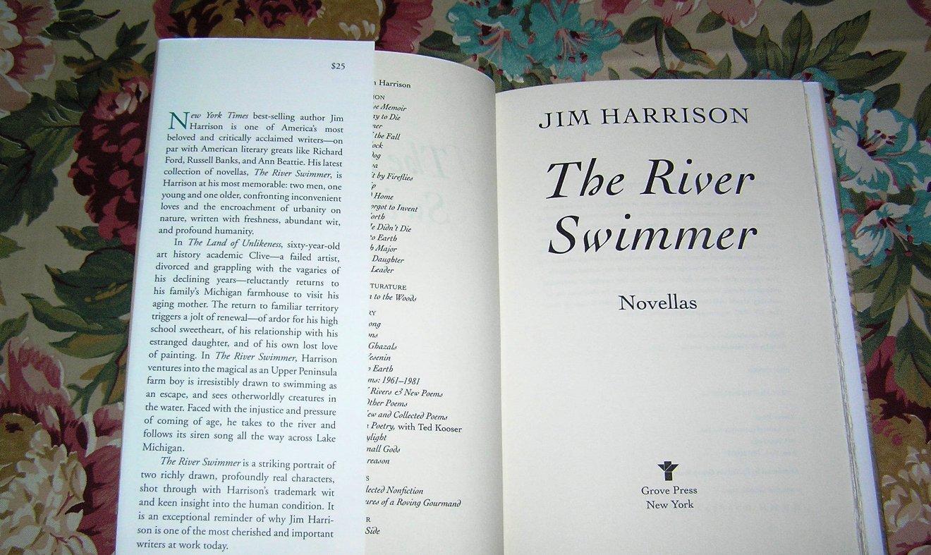 Jim Harrison the river swimmer